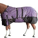 HILASON 81' 1200D Winter Waterproof Horse Blanket Belly Wrap...