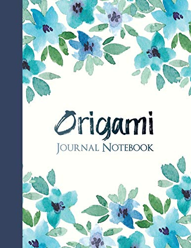 Origami Journal Notebook: College Ruled Notebook for Journaling
