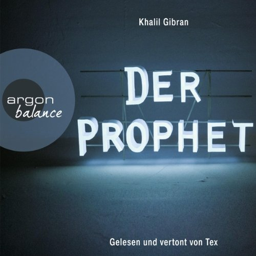 Der Prophet audiobook cover art