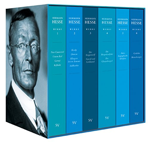 Ausgewählte Werke: (Sechs Bände in Kassette) (suhrkamp taschenbuch)