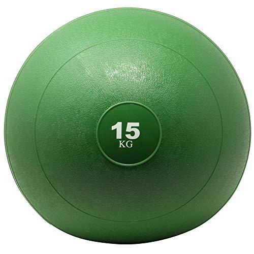 POWRX Slam Ball Balón Medicinal 15 kg - Ideal para Ejercicios de...
