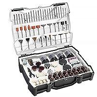 set di accessori multiuso, tacklife arto2c accessori per utensili rotanti, 361pcs 3.2mm diametro shanks utensili universali per taglio, levigatura, affilatura, intaglio e lucidatura