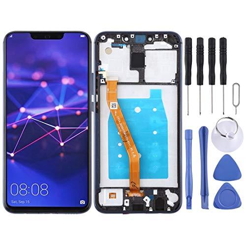 Consumer Electronics LCD-scherm LCD-scherm en Digitizer Volledige Vergadering met Frame for Huawei Mate 20 Lite/Maimang 7 (zwart) Reparatie Onderdelen (Color : Blue)