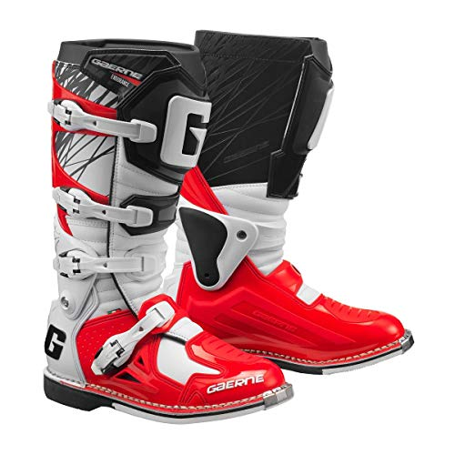 Gaerne Motocross-Stiefel Fastback Endurance Weiß Gr. 44