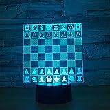 Lanpara-Lampe des Schachlichtnachtlicht-Notentisches, die Hauptdekorationsnachtlichtfreundgeschenk des Alten Mannes schläft