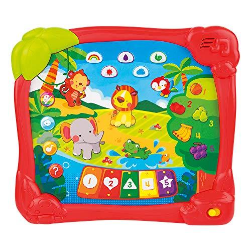 winfun Tablet educativa animales de la jungla en Español (44753)