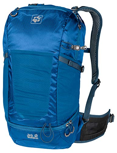 Jack Wolfskin Kingston 22 Pack Daypack Rucksack, Electric Blue, ONE Size