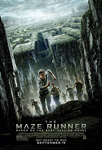 THE MAZE RUNNER MOVIE POSTER PRINT APPROX SIZE 12X8 INCHES by 12X8 INCHES
