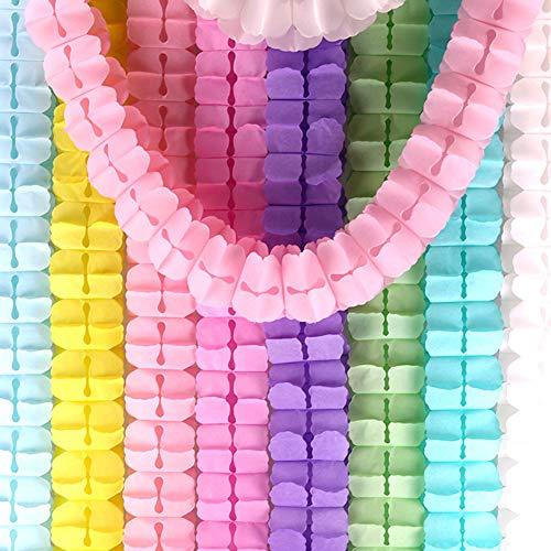 Kalaokei 300cm 4-Blatt Klee Papier Girlande Hängen Banner Hochzeit Geburtstag Party Decor Für Geburtstagsfeiern, Hochzeitsdekoration, Fiesta, Feiertagsfeier 21#