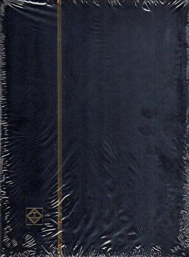 ライトハウス社 ストックブック 9段ポケット切手帳 (黒)