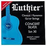 Luthier Set 30 Concert Silver Classical Flamenco Guitar Strings