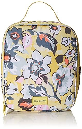 Vera Bradley Women's Recycled Lighten Up ReActive Lunch Bunch Lunch Bag, Sunny Garden, One Size