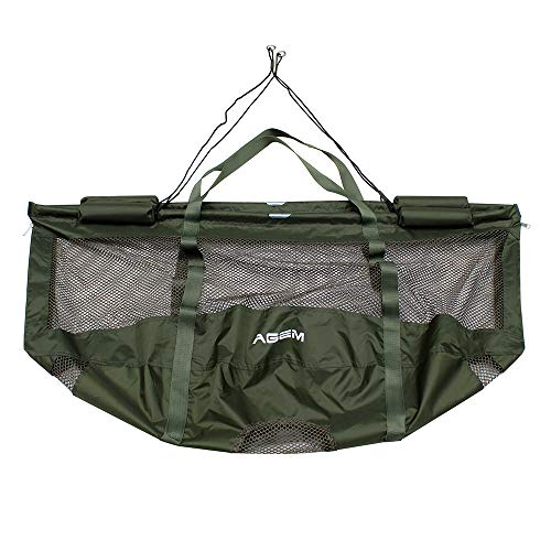 AGEM Carp Weigh Sling Bag Angeln Tasche Sack Fishing Bag Pack Fischsack Wiegesack Karpfen