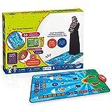 Alfombra Alfombra Antideslizante Alfombra de oración electrónica para niños Alfombra de oración interactiva educativa islámica Musulmana Alfombra de adoración Manta de Altavoz Regalo para niños