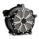 Motor Deep Edge cut Air Cleaner harley street glide air Intake Filter For Harley Touring Models 2008-2016