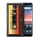 Hülle Für Nokia 8 Sirocco 2018 Comic Wächter Inspiriert Genial Mix Tape Design Transparent Ultra Dünn Klar Hart Schutz Handyhülle Case