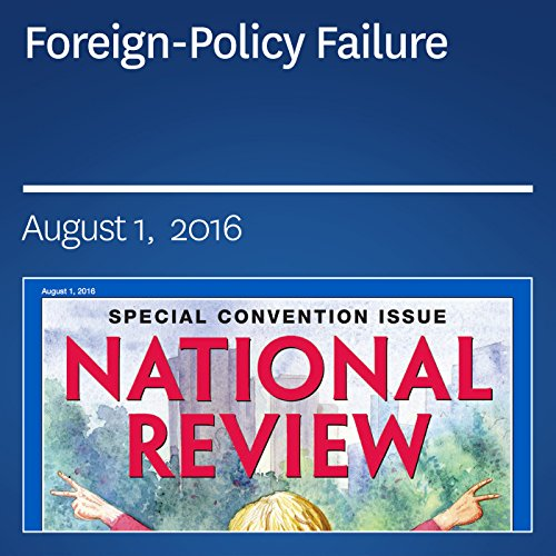 Foreign-Policy Failure audiobook cover art