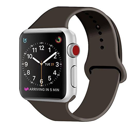 ZRO Sport Watch Bracciale, Cinturino in Silicone Morbido Compatibile con Cinturino dell'orologio 44MM 42MM 40MM 38MM Orologio Serie 4/3/2/18, S/M M/L, Tutti i Modelli