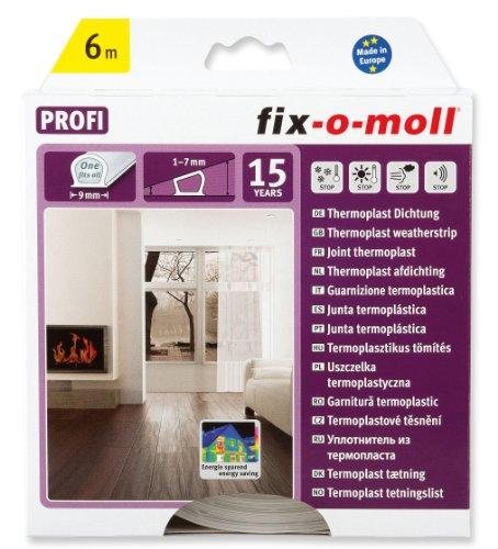 fix-o-moll Thermoplast Dictung 6 m 7 x 9 mm transparent, 3565200