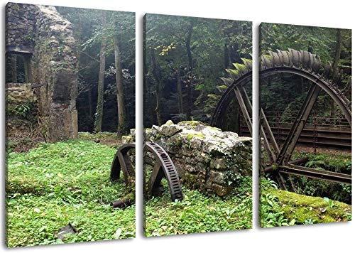 Alte Wassermühle Leinwand Malerei Poster Wandkunst Bild Druck Auf Leinwand Wohnzimmer Schlafzimmer Küche Büro Wohnkultur Wandbild