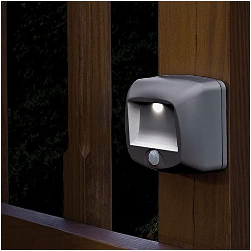 Mr Beams, Brown MB520 Wirelsss Battery-Operated Indoor/Outdoor Motion-Sensing LED Step/Stair Light, 1-Pack 5