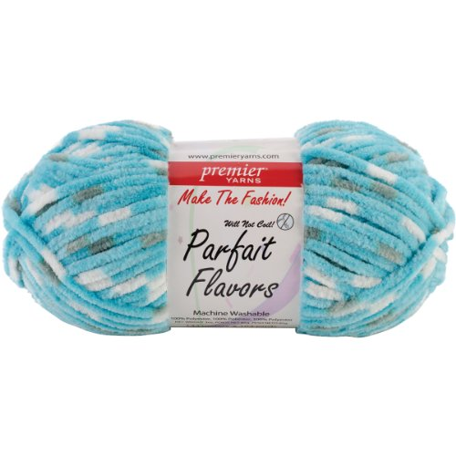 Premier Yarns Parfait Flavors Yarn-Blue Raspberry