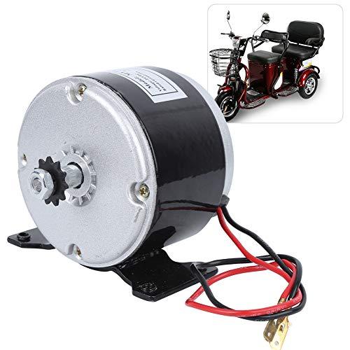 Alomejor Motor de Cepillo de Bicicleta eléctrica 250 W 2750 RPM Motor de imán Permanente Motor Generador Motor de Cepillo Ebike