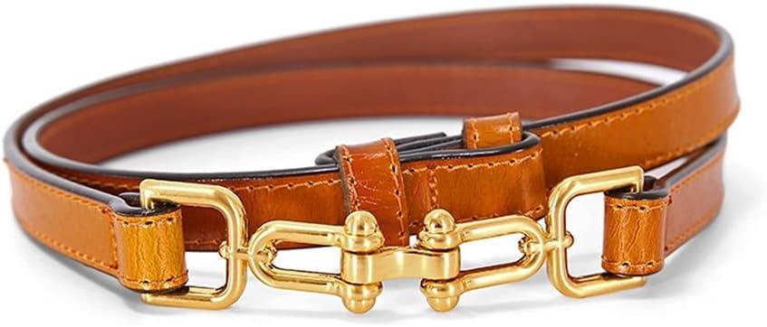 LCKJ Adjustable PU Leather Ladies Bargain sale Thin New product Women Belts Skinny Dress