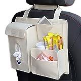 Milopon Sièges Auto dos Sacoche organiseur du sac de rangement avec plusieurs poches Siège auto...
