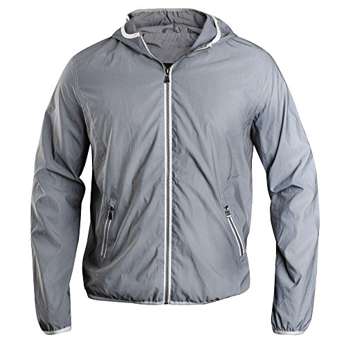 Clique - Unisex Full Reflective Jacke \'Flashback\' / dark grey (949), XL
