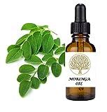 Aceite de Moringa 100 % natural para la cara y el cuerpo, contiene altos niveles de ácido oleico así como vitaminas A y C