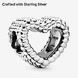 Zoom IMG-2 pandora bead charm donna argento