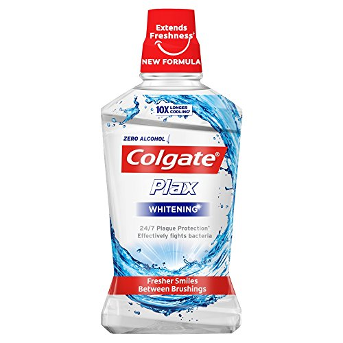 Colgate Plax Whitening Enjuague bucal, 500ml