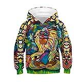 Baby Girls Boys Teen Hoodie Sweatshirt Tops 6-13 Years Old Kids Children Long Sleeve Paint Print Pullover Shirts (8-11 Years Old, Multicolor-9)
