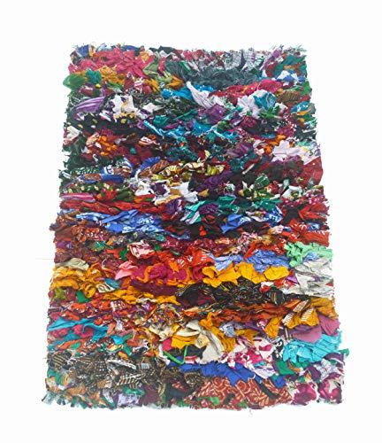 Chardin home Rainbow Shag Rug, 20' x 30', Multi-Colored (Multi)