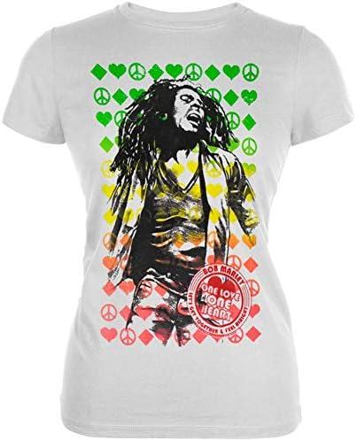 Bob Marley One Love Label Juniors T Shirt L product image