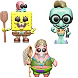 Funko Animation: POP! Bob Esponja juego de coleccionistas - Bob Esponja en equipo de campamento, Patrick in Camping Gear