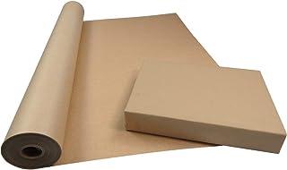 ideal para artes regalos Paquete de gran valor envoltura camino de mesa manualidades cubierta de piso postal Rollo de papel de estraza Merrimen env/ío 750 mm x 25 m Rollo de papel marr/ón