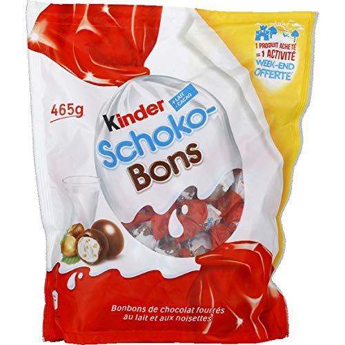 Ferrero Kinder Schokobons im Mega XXL Pack mit 465g Aktionspack 75 Stück Inhalt