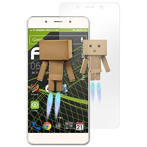atFolix Bildschirmfolie kompatibel mit Hisense HS-C1 Spiegelfolie, Spiegeleffekt FX Schutzfolie