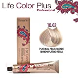 FarmaVita Life Color Plus Haarfarbe 100ml 10.02 Platinblond Perl