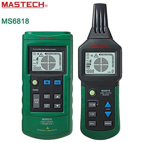MASTECH MS6818 - Medidor de Cables con Detector de Cables multifunción (12~400 V)