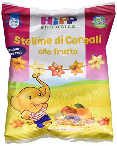 Hipp Stelline di Cereali alla Frutta - Confezione da 7 x 30 g