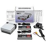 jinxiuhuazhenshangmao Retro Game Console, AV Output Console Built-in Hundreds of Classic Video Games