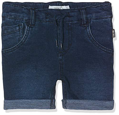 Name IT NOS Jungen NMMSOFUS DNMTATO 3159 Long NOOS Shorts, Blau (Dark Blue Denim), (Herstellergröße: 98)