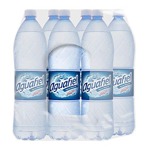 Aguafiel, Natural 1.5 L, Botella Pet, 6 Piezas