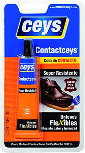 CEYS CE503401 Adhesivo contactceys blister pequeño, Azul, 0