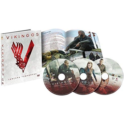 Vikingos DVD Tercera Temporada Digibook 3 DVDs