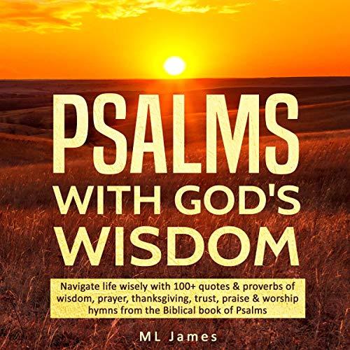 Couverture de Psalms with God's Wisdom