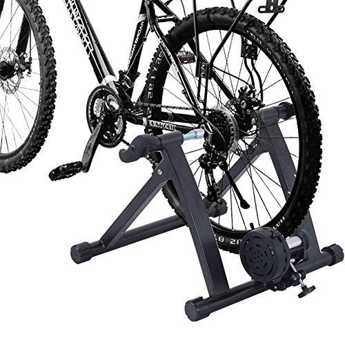 XLNB Rollentrainer voor fiets wieltrainer van staal hometrainer magnetische weerstand inklapbaar indoor stationaire oefenstand platform platform racefiets fiets